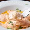 ヴィネリア イル バチェット - 料理写真:リピータ続出、カニとカニ味噌のラヴィオリ