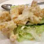 龍泉 - 海老のマヨソースは美味しいですね (^_^)/