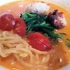麺屋キャンティ - 料理写真:ピリ辛!トマトラーメン+パンのセット
