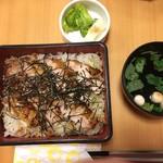 八沢川 - 日向地鶏焼き弁当1500税別