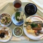 屋久島いわさきホテル - 朝食ブッフェ いただきま〜す