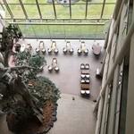 屋久島いわさきホテル - 6階から見下ろすロビー