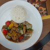 Silom Village - 料理写真:Fried sliced fish with black pepper served with jasmine rice