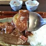 早川 - 肉大きいです