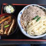 吉野屋 - ネギ南蛮の合盛り ¥720