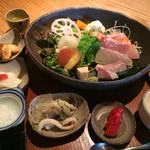 蕎麦 いち - ★★★★ お昼のなごみ膳 この他に天ぷらとそばが付きます