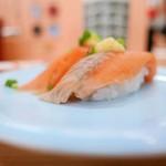 回転寿司函館まるかつ水産 - 桜ます握り