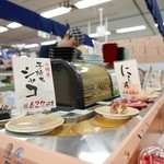 回転寿司函館まるかつ水産 - カウンター