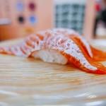 回転寿司函館まるかつ水産 - 桜ます トロ握り
