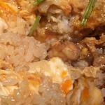 灯り家 - 料理写真:親子丼極上のアップ