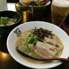 博多新風 - 料理写真:白豚骨ラーメン