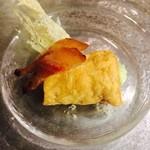 フラテッロ - 空豆を詰めたカンノーリ パルミジャーノのクロッカンテ