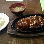 グリル 塩豚 - ハンバーグ、トンカツ
