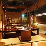 蟹工船 - 川床のお座敷