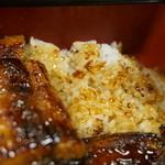 亀の池 浪速 - 料理写真:御飯UP