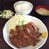 まるはな食堂 - 料理写真:カツライス ¥850