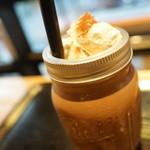サタデイズ チョコレート ファクトリー カフェ - アイスチョコ