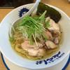 天日塩らーめん べらしお - 料理写真:あぶり鶏塩らーめん780円