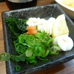 初かすみ酒房  - 鱈白子ポン酢