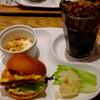 ザラメ ニッシン タケノヤマ - 料理写真:H28.4月 バーガーセット