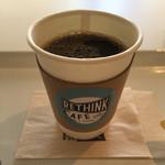 リシンク カフェ ウィズ プルーム テック - ドリンク写真:セットドリンクのコーヒー。