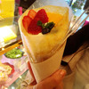 プランタン ブラン - 料理写真:クレープフリュイ 450円!