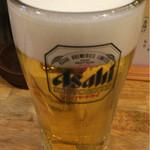 なじみ野 - ドリンク写真:生ビール(280円)