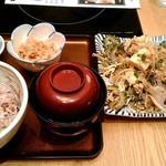 ろくまる 五元豚 - ゴーヤチャンプル定食