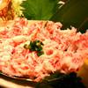 大盛鮮魚カツオ - 料理写真:698円境港紅楚蟹剥身