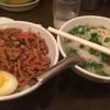 メーヤウ - 料理写真:バジル丼(小)と そば小