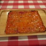 銀座シシリア - 名物の四角いピザ