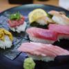 スシロー - 料理写真:鮪・かに・うに天然盛り~☆