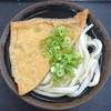 さぬき麺輝屋 - 料理写真:かけそのまま+お揚げ