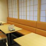 和饗 - カウンター前のテーブル