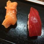 宇佐美 - 赤貝とまぐろ
