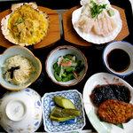 松浦食堂 - 茶粥定食(要予約):1,500円