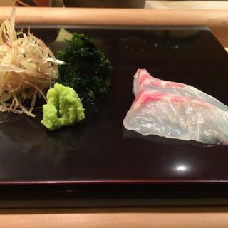 鮨みなと - 料理写真:鯛
