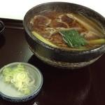 増田屋 - 鴨南蛮そば900円