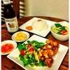ムーちゃん - 料理写真:シンハ―セット