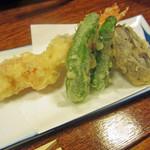 割烹ちゃんこ 大内 - コースの天ぷら