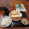 豚菜 - 料理写真:ハーフタルタルチキンカツ定食