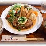 ボンバーキッチン - 和風ハンバーグステーキ定食