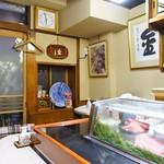 日本橋 寿司金 - 店内