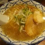 三代目ねかし - 鶏ガラとんこつ醤油(\700)