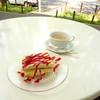 キハチ - 料理写真:ラズベリーのティラミス