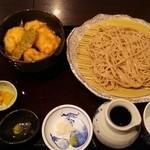 50088798 - 鳥天丼とお蕎麦のランチ