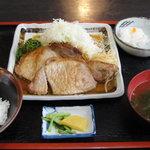 たちばな - 生姜焼き定食