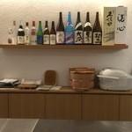 鮨 つか田 - お酒とお櫃
