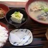 越後市振の関 - 料理写真:たら汁定食 980円