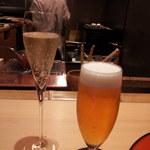 50100123 - シャンパン                       生ビール